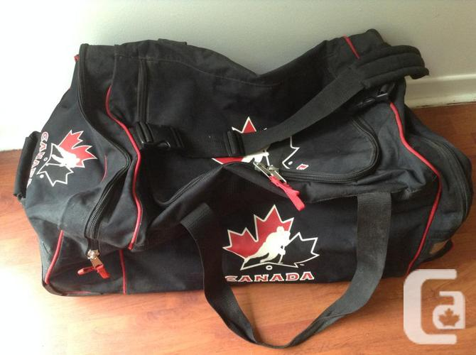 Sac d'Hockey Junior Team Canada