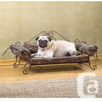 Safari Print Pet Bed, Ontario