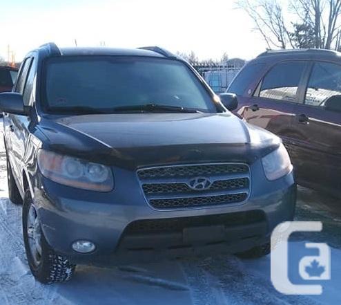 SAFETIED-2008 Hyundai Santa Fe GL-Brand New Winter