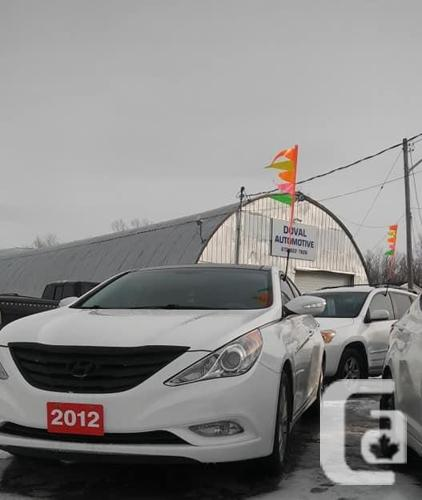SAFETIED- 2012 Hyundai Sonata Limited Special Edition