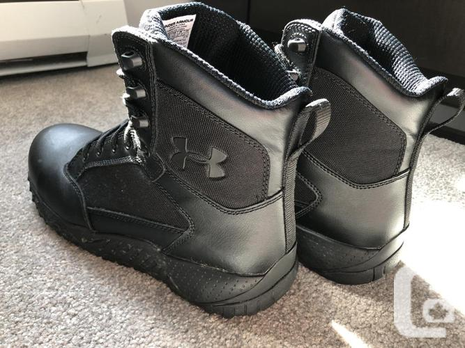 Safety Boots Under Armour brand