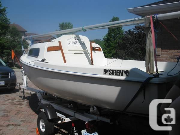 SAILBOAT FOR SALE - Siren 17 with Motor and Trailer -