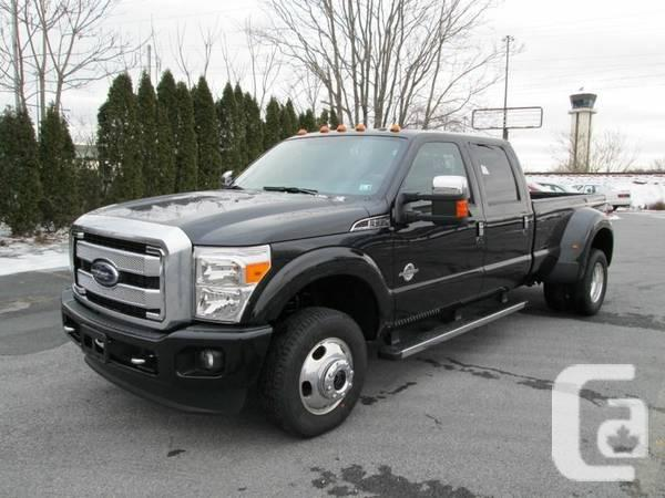 sale pending 2013 ford f350 f 350 platinum dually diesel full load for sale in abbotsford. Black Bedroom Furniture Sets. Home Design Ideas