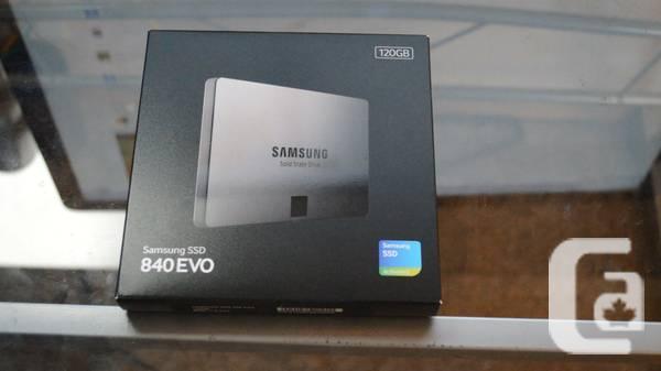 Samsung 840 EVO 120GB - $90