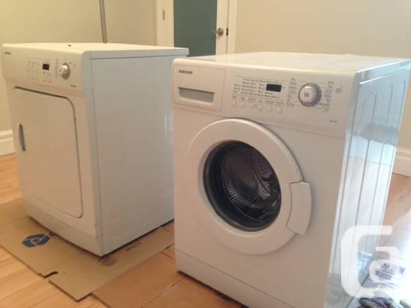 Samsung Machine/Dryer side-load - $200