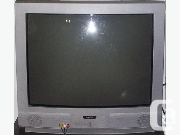 Sanyo 27-inch CRT TV Design: Ds27214