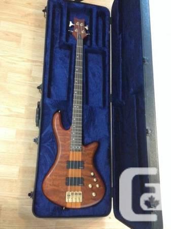 Schecter Stiletto 4 Bass w/HSC - $500