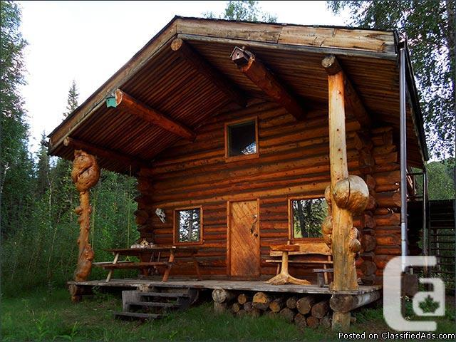 Scribe Fit Log Home 8.5 Yukon Riverfront