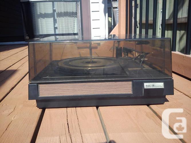Sears BSR McDonald 5500X Record Player