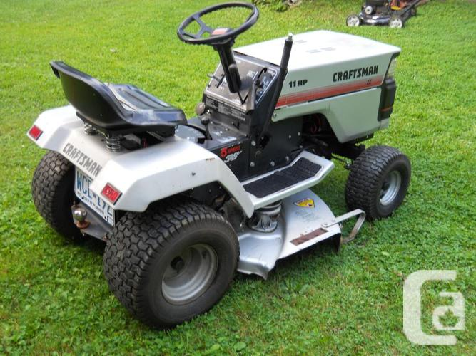 Sears Craftsman 2 11HP lawn Tractor