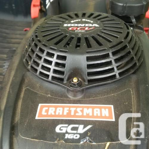 Self propelled Honda / Craftsman gcb 160 lawnmover with