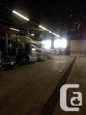 Semi truck stall rentals