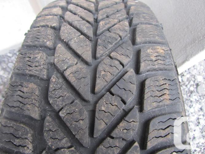 Set of P195/65 R15 Winter Tires With Rims