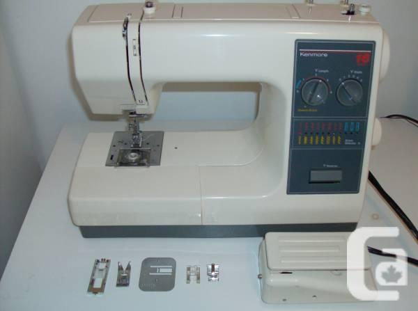 Sewing Machine - 16 Stitches - $65
