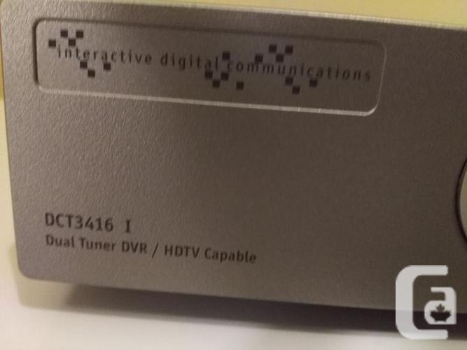 Shaw Motorola Dual Tuner DVR/HDTV capable