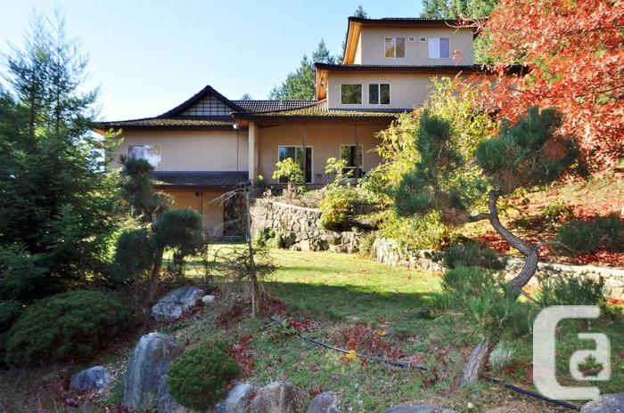 Shawnigan Acreage with Asian Inspired Dream Home!