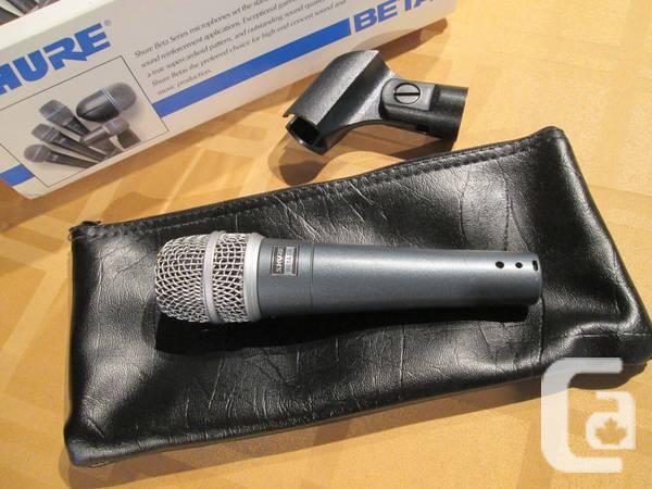 Shure Beta 57a Dynamic Microphone - $125