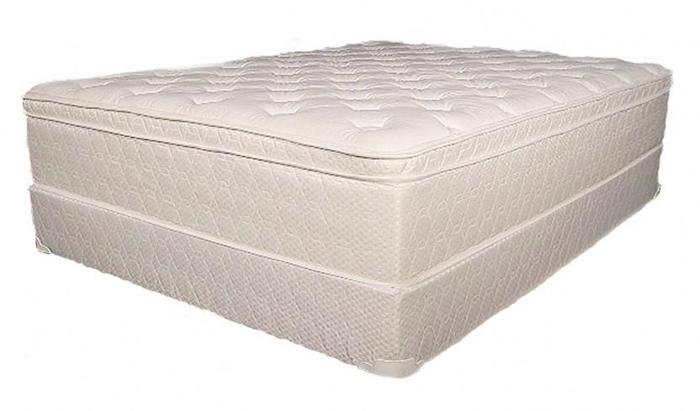 Simmons Heritage Beautyrest Pillowtop Queen Mattress And Box Spring For Sale In Victoria
