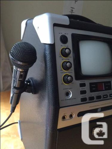 karaoke machine professional for sale