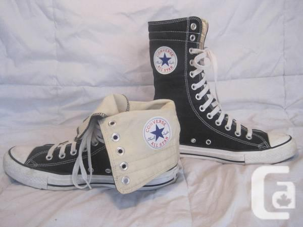 92db7af18e27 Size 7 Black White Chuck Taylor Converse All Star X-HI High Tops -  25 in  Coquitlam