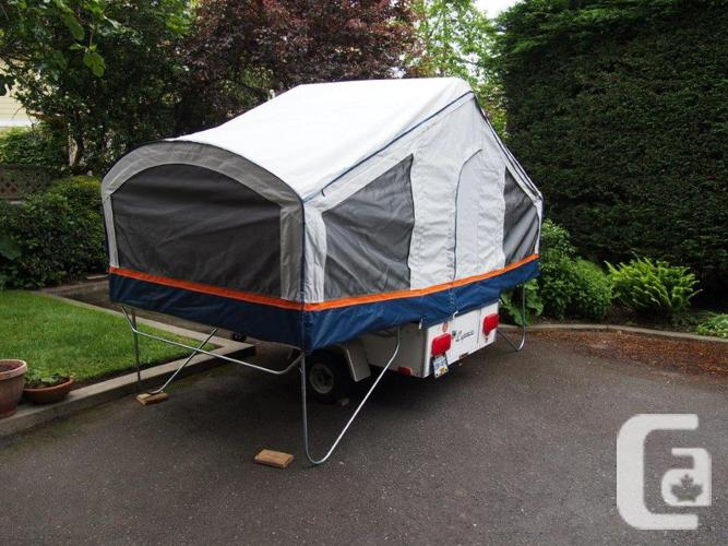 Small Viking Express Tent Trailer Towable By Small Cars