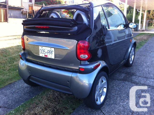 smart car convertable diesel for sale in nanaimo british columbia classifieds. Black Bedroom Furniture Sets. Home Design Ideas