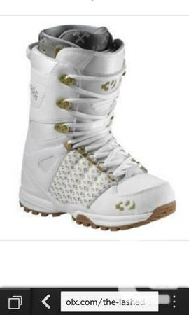 snowboard boots size 12 - $65