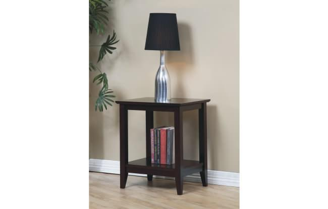 Solid Hardwood End Tables - NEW