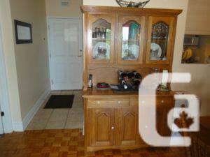 Solid Oak 7 Piece Dining Set - $700