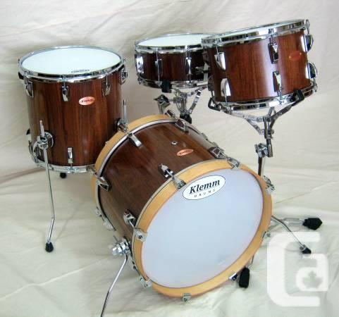 Solid Pine 4-piece Drum Set - $2150