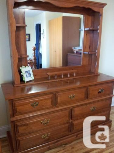 Solid Pine Four Poster Bedroom Set For Sale In Vanier Ontario