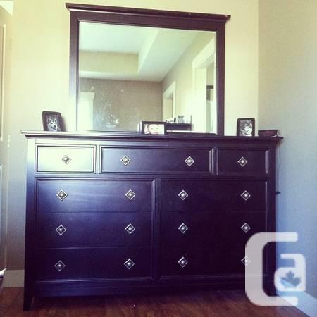 Solid Wood Bedroom Group - $900