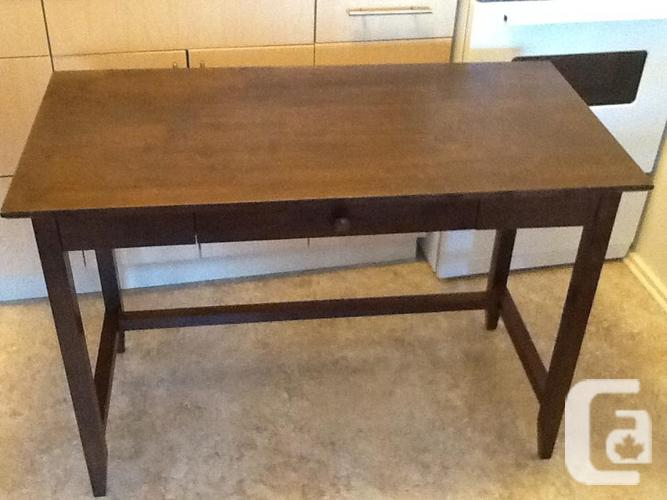 Solid wood desk and or side tables for sale in victoria for Furniture victoria bc