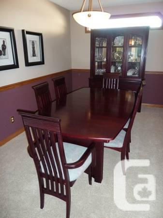 solid wood dining set for sale in edmonton alberta classifieds