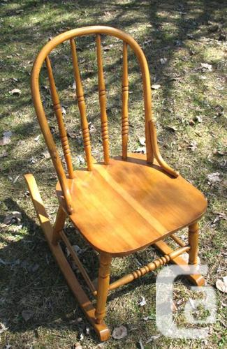 Some Refinished Antique Rocking Chairs / Nursing