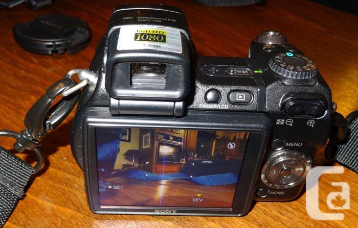SONY Cybershot DSC-H9 8MP Digital Camera with 15x Opti