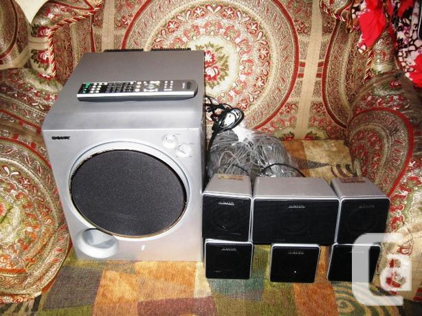 Sony HTV3000DP 705 Watt with 6 Speakers Sub Woofer and