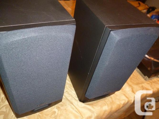 Sony SS-H2750 3 Way Stereo Bookshelf Speakers