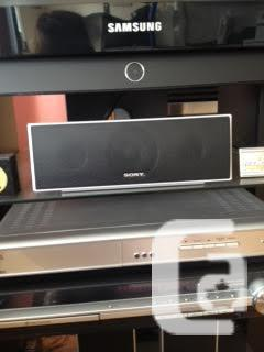 SONY SURROUND SOUND SYSTEM WITH 5 DISC BLU-RAY PLAYER!!