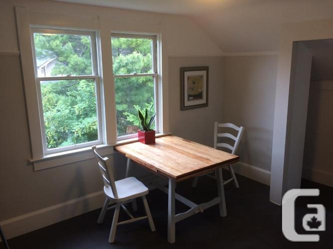 Spacious, beautiful 1 BDRM in the heart of Cook St.