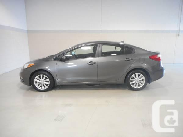SPECIAL WINTER EDITION KIA FORTE WITH HEATED STEERING