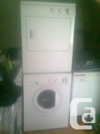 Stackable Front Load Washer Dryer $ 475/=..Deliver