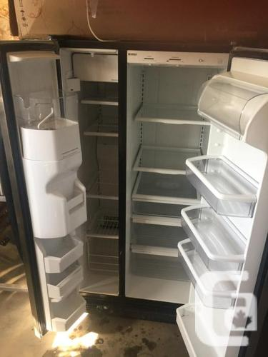 Stainless Steel Side by Side Kenmore Fridge