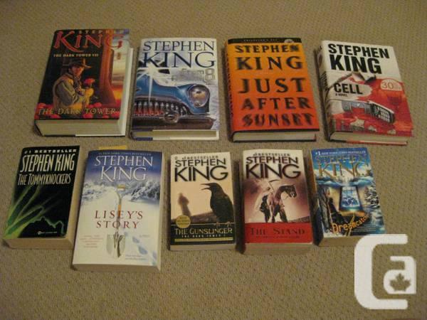 Stephen Book Series - $10