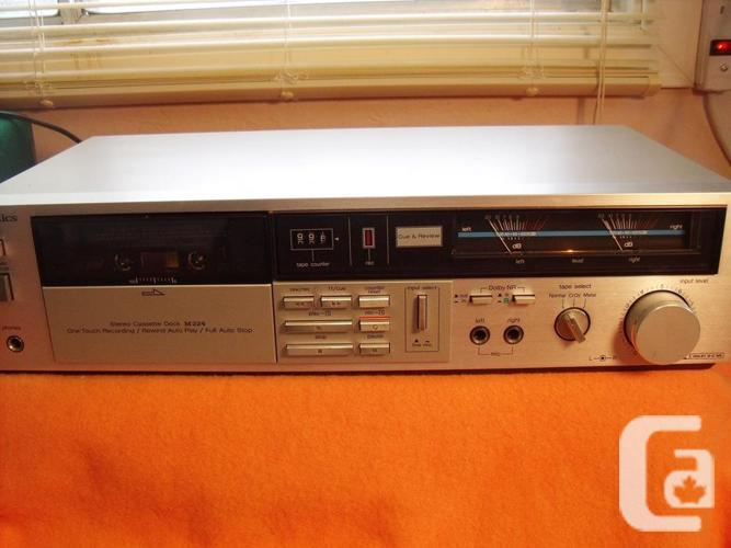 Stereo Cassette Deck Technics M224 great condition