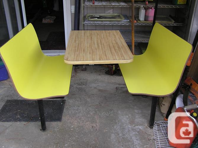 Subway restaurant booth table for sale in courtenay