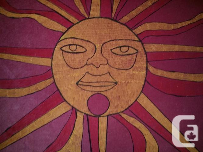 SUN PAINTING . . fr 1970 ORIGINAL