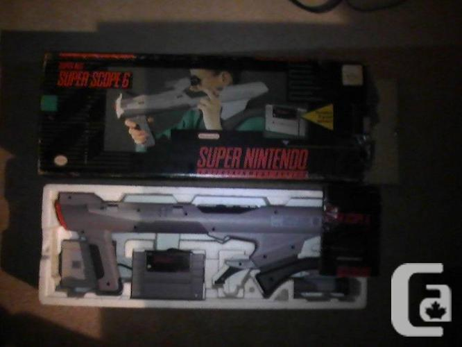 Super Nintendo SNES Super Range 6 filled with container