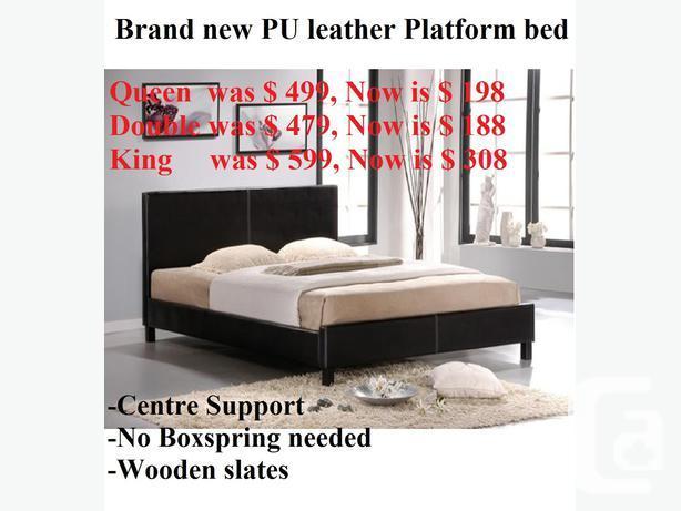 $$$Super Value Sale - Brand new Modern leather platform