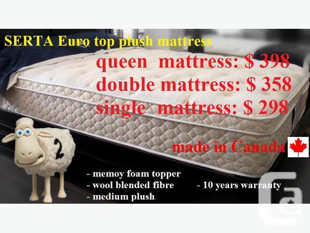 $$$Super Value Sale - Brand new SERTA - Euro Top Plush